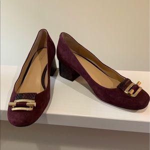 Ladies Michael Kors Suede Shoes